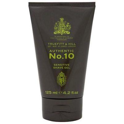 AUTHENTIC No.10 Żel do golenia dla skóry wrażliwej 125 ml