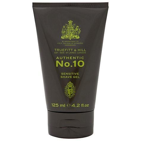 AUTHENTIC No.10 Shaving gel for sensitive skin 125 ml