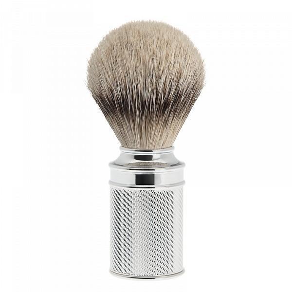 Chromed shaving brush Silvertip 091M 89