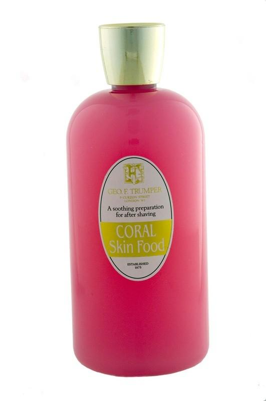Coral Skin Food - pre and aftershave emulsion 500ml