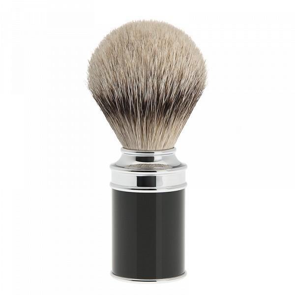 Black shaving brush Silvertip 091 M 106
