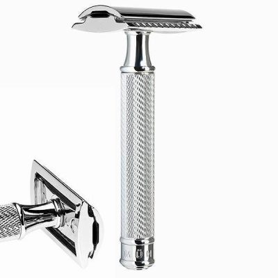 "Chromed safety razor – ""closed comb"" R 89"