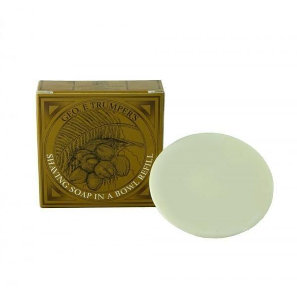 Shaving Soap Coconut Oil - refill 80g