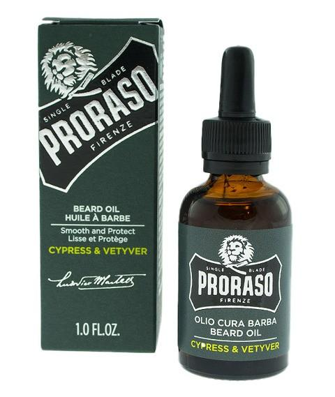 Olejek do brody Cypress  & Vetyver 30 ml