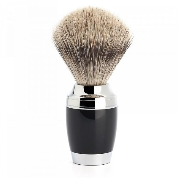 Shaving Brush Stylo - Black Resin 281 K 76