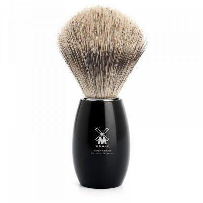 Shaving brush Modern Black