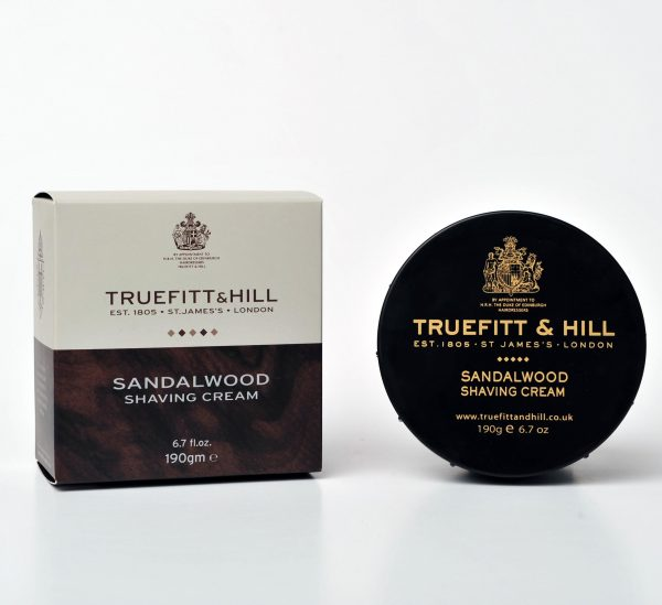 Sandalwood Shave Cream in Bowl 190g