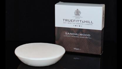 Sandalwood Luxury Shaving Soap Refil 99g