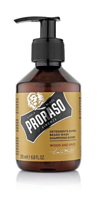 Beard shampoo Wood & Spice 200 ml