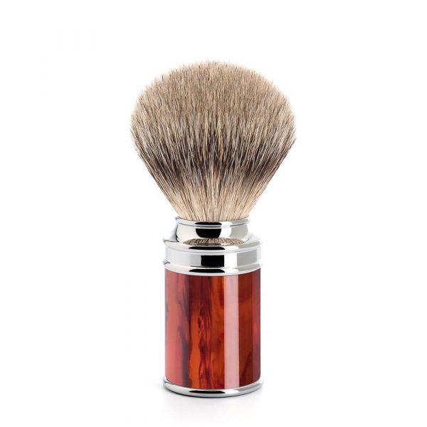 Tortoiseshell brush Silvertip