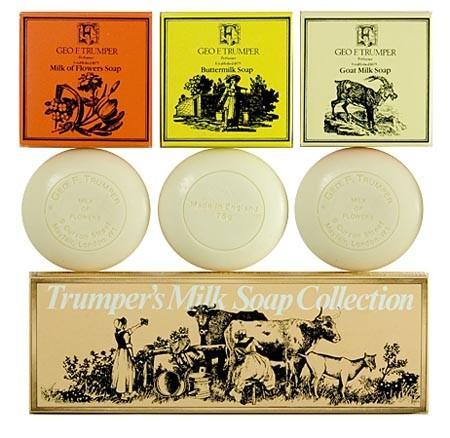 LUXURY SOAP SET 3 x 75g