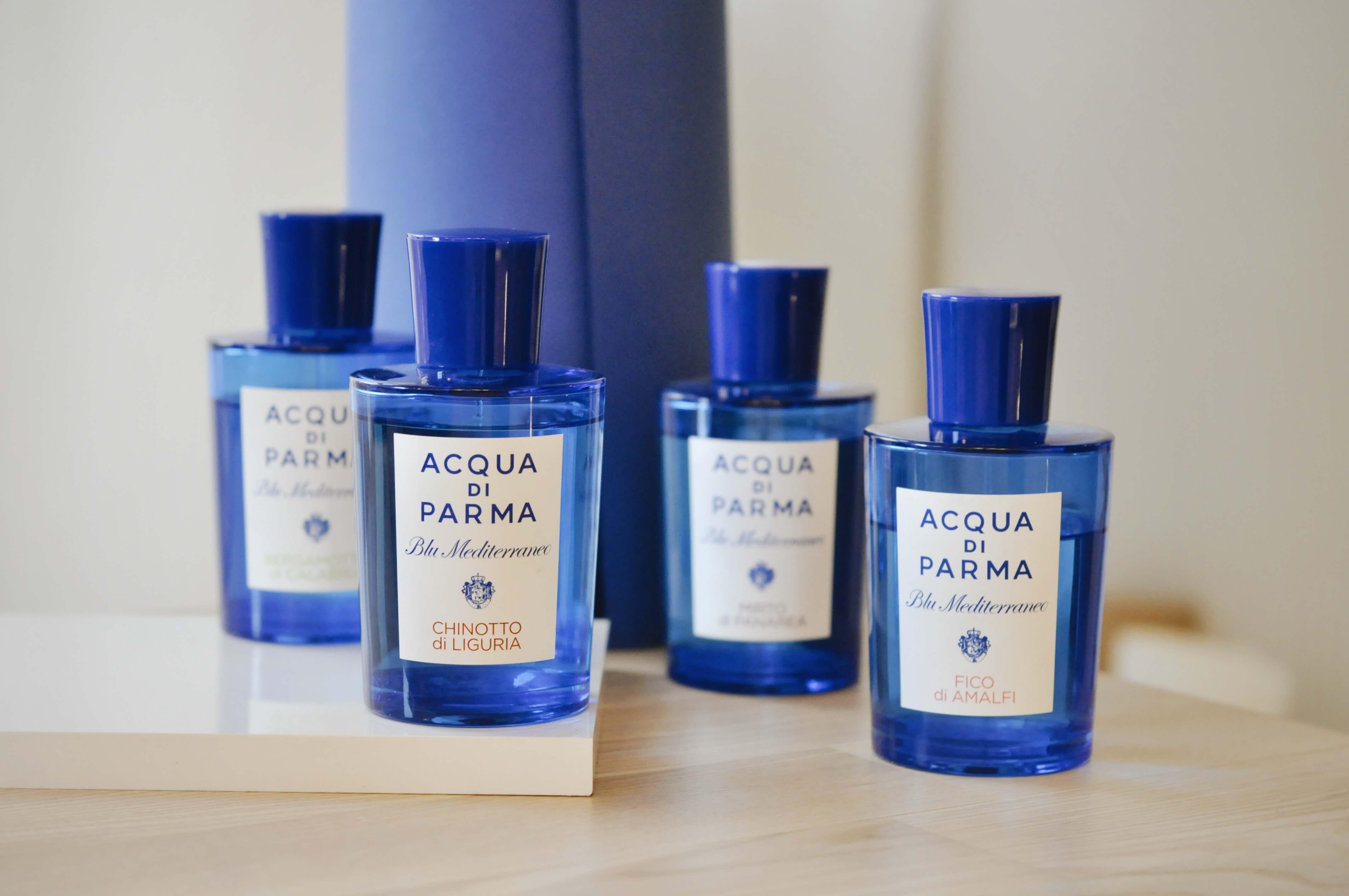 linia perfum Blu Mediterraneo