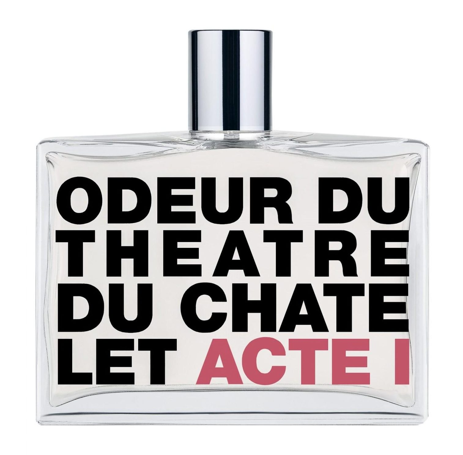 comme des garcons odeur du theatre du chatelet - acte i